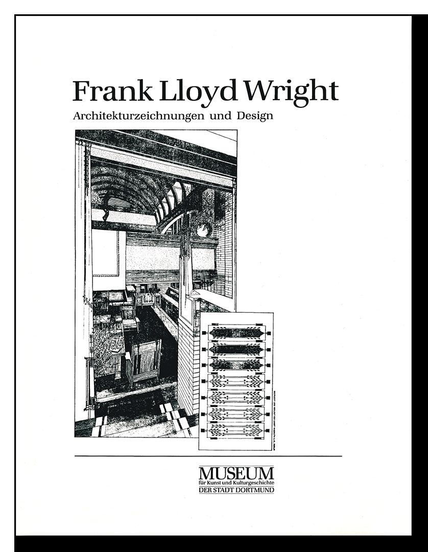 Museum für Kunst- und Kulturgeschichte Dortmund - Frank Lloyd Wright: Architekturzeichnungen und Design