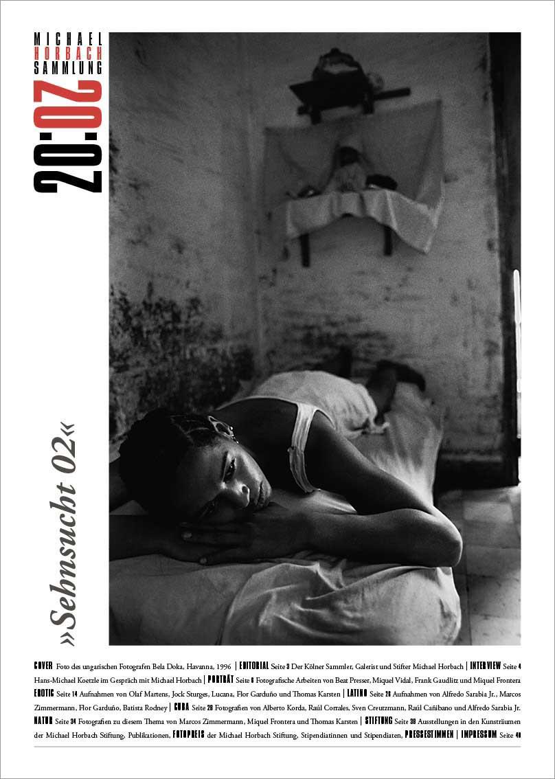 Artdirection, Gestaltung + Produktion der Ausstellungs-Zeitung, für die Michael Horbach Stiftung, Köln